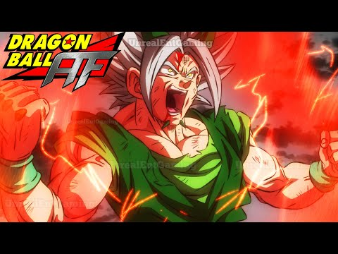 Dragon Ball AF Chapter 4 Finale: Resurrection Broly! Xicor Breaks Out The Z-Sword (Fan Manga Review)