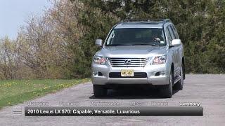2010 Lexus LX 570 Used Car Report