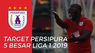 Persipura Ubah Target dari 10 Besar Menjadi 5 Besar di Liga 1 2019