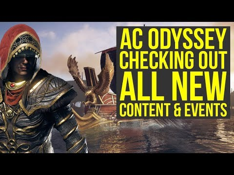 Assassin's Creed Odyssey DLC - Checking Out All The New Stuff (Weekly Reset July 2nd)