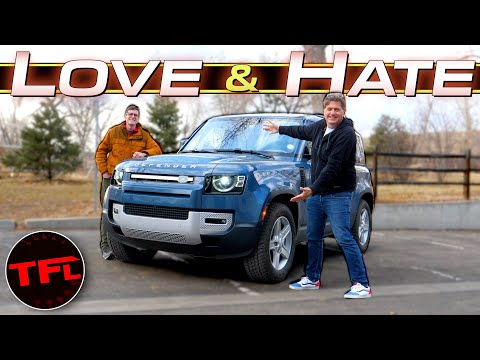 External Review Video h8aKyJYZ_sw for Land Rover Defender (L663)