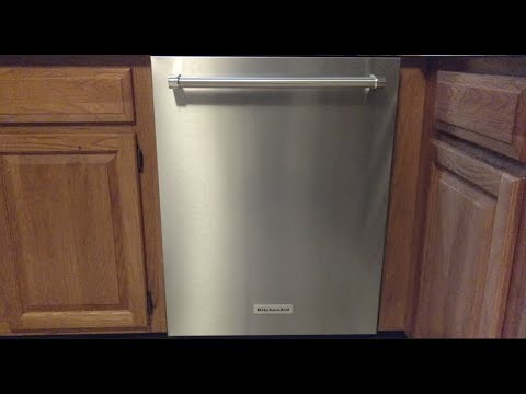 KitchenAid Dishwasher Model KDTE334GPS