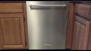 KitchenAid Dishwasher Model KDTE334GPS