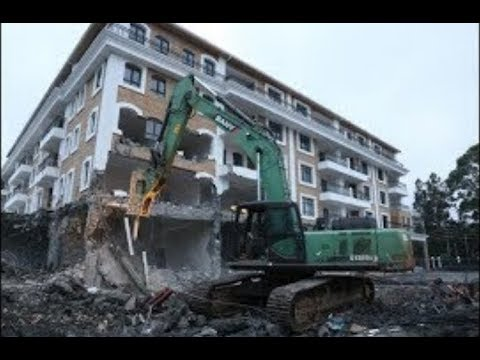 Grand Manor Hotel in Gigiri comes tumbling down