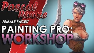 PAINTING PRO 🎨: Painting Female Faces Workshop | 🐵🔥 |