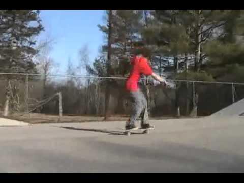 2 Tricks at Manchester skatepark