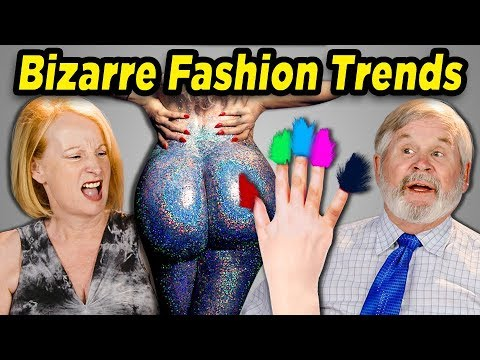 10 BIZARRE FASHION TRENDS w/ Elders (React)