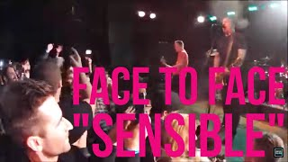 "Face to Face - ""Sensible"" (Bottom Lounge/Chicago/4.3.15)"