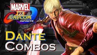 MvCI: Dante Solo Combos (Power/Reality Stones)