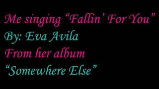 """Me singing """"Fallin' For You"""" ( AUDIO ONLY )"""