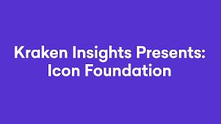 Kraken Intelligence & ICON Foundation