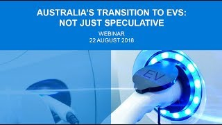 Webinar: Australia's transition to electric vehicles