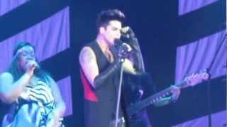 Adam Lambert BTIKM   CHOKEHOLD (St.Petersburg, Russia, Ice Palace 20 03 2013)