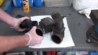Air Intake Boot Replacement Toyota Tacoma