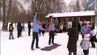Погода внесла коррективы в праздник моржей, приуроченный к 23 февраля
