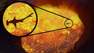 Most MYSTERIOUS Creatures Living INSIDE Volcanoes!