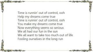 Cheap Trick - Time Is Runnin' Lyrics