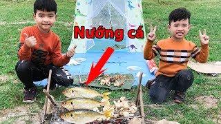 Trò Chơi Nướng Cá Ngoài Bờ Sông - Bé Vui Cắm Trại ♥ Min Min TV Minh Khoa