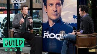 """Nathan Fillion Talks ABC's """"The Rookie"""""""