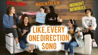 SING ANYTHING CHALLENGE - ONE DIRECTION EDITION