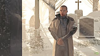 Detroit: Become Human - Markus at Carl's Grave (All Options)