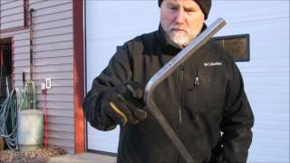 Square tube bending DIY