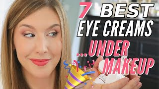 The BEST EYE CREAM For DRY MATURE Skin For UNDER MAKEUP 🙌🏼🔥