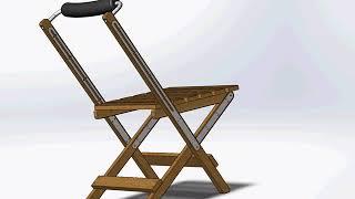 Складной стульчик для рыбалки своими руками чертежи