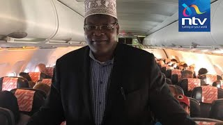 """""""You are not boarding"""": Miguna Miguna kicked out of plane in France"""