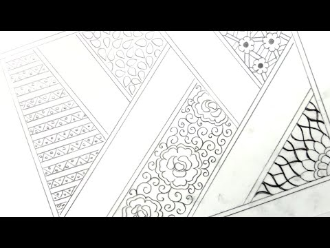 Hand Embroidery Design 39 How To Draw An Easy Saree Border Design