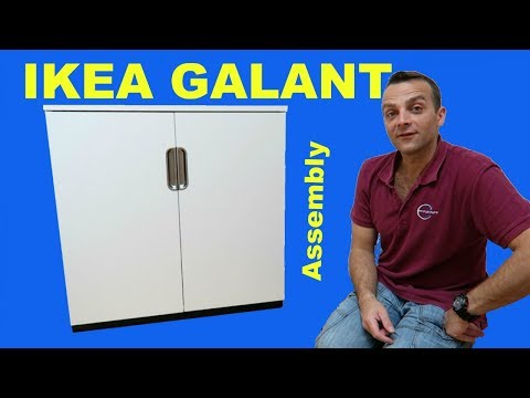 Ikea GALANT Cabinet Assembly