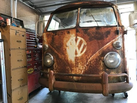 1962 Volkswagen Bus, VW Type 2 - RESTORATION!!! IT'S ALIVE!!! VW Panelvan, VW Kombi, VW Bus