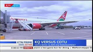 COTU calls on Kenya Airways to reinstate its employees