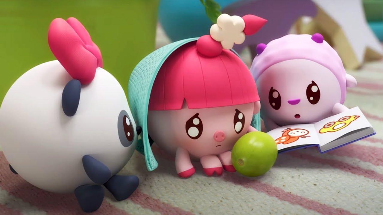 Малышарики Молчалка Серия 191 Обучающие мультфильмы для малышей