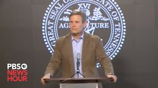 WATCH: Tennessee Governor Bill Lee gives storm and coronavirus update -- April 14, 2020