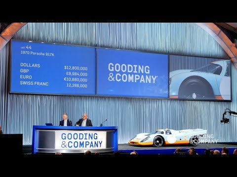 Gooding Company Highlights Pebble Beach 2017