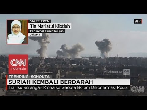 Suriah Kembali Berdarah, Dukungan AS & Arab Saudi Menurun - via Phone, Tia Mariatul Kibtiah
