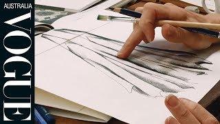 Vogue Art Week Challenge: Five Australian Designers Sketch For Their Lives