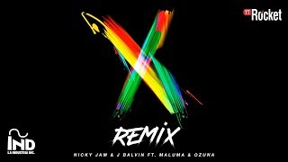 Video X (Remix) de Nicky Jam feat. J Balvin, Ozuna y Maluma