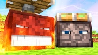Talking Blocks: Pistons (Minecraft Animation)