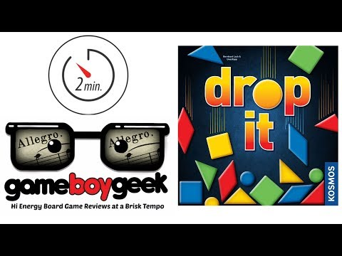 Drop it (Allegro - 2 min) Review with the Game Boy Geek