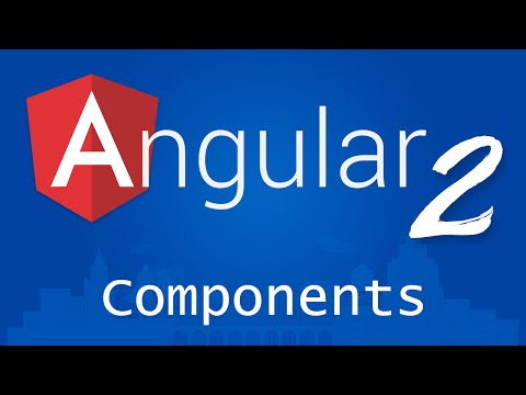 Angular 2 for Beginners - Tutorial 3 - Components