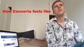 How Concerta feels like