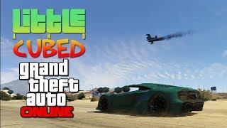 Little and Cubed: In-flight flight! - GTA Online