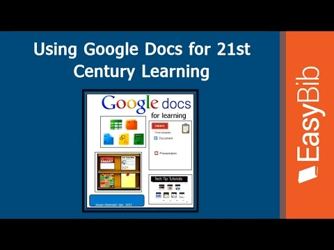 Using Google Docs for 21st Century Learning