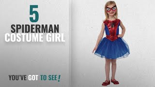 Top 10 Spiderman Costume Girl [2018]: Rubie's Marvel Universe Classic Collection Spider-Girl