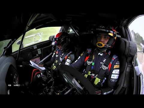 WRC 2021 第7戦ラリー・エストニア 金曜日ハイライト動画