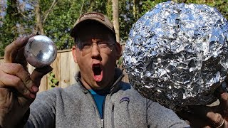 Super Polishing Aluminum Foil Balls –  Doing the Japanese foil ball challenge - Video Youtube