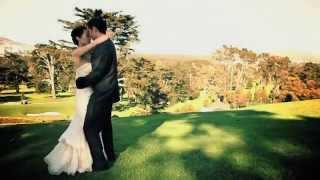 Olympic Club, Saint Cecilia's Church, Ritz Carlton, San Francisco Wedding Video