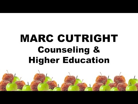 play Marc Cutright - Counseling and Higher Education video